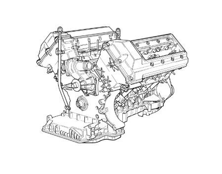 Bmw 540i Engine