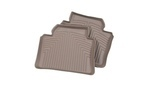 F30/31 3 Series All Weather Rubber Floor Liners, Rear - Beige