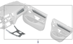 F25 X3, F26 X4 M Performance Carbon Fiber Interior Trim Set - BMW (51-95-2-358-300)