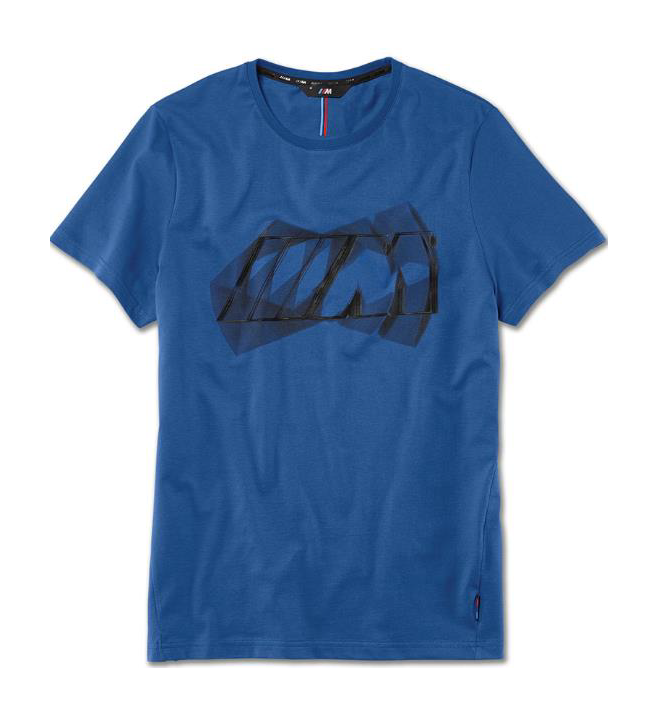 Men's M Logo T-Shirt - Blue