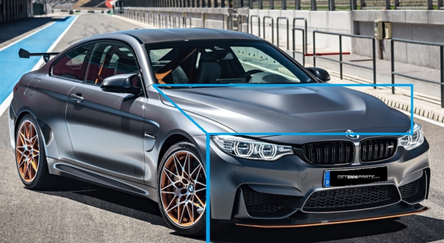 F8x M3/M4 GTS/CS Carbon Fiber Hood Retrofit Kit - BMW (PKM4GTSHOOD)