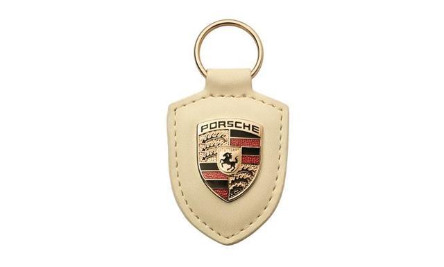 Porsche Crest Keyring - White - Porsche (WAP-050-096-0E)
