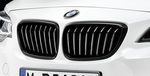 F22/23 2 Series M Performance Black Kidney Grille - Left