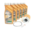 E46 M3 Oil Change Kit with Castrol Edge Supercar Oil and either Mahle or Genuine BMW Oil Filter