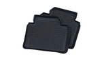 F30/31/34 3 Series All Weather Rubber Floor Liners, Rear - Black