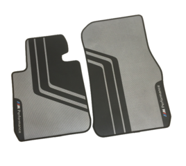 F25 X3, F26 X4 M Performance Floor Mats Set - Front - BMW (51-47-2-407-302)