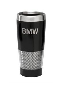 BMW Carbon Effect Travel Mug - BMW (80-90-2-149-943)