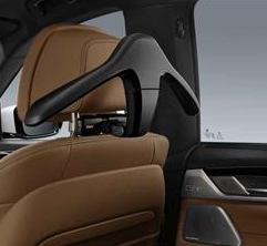 Travel & Comfort System - Base Carrier + Coat Hanger Combo Kit (Special Edition) - BMW (51-95-2-456-780)