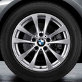 "F34 3 Series GT 17"" Style 395 Silver Winter Wheel/Tire - 8x17 - BMW (36-11-2-349-073)"