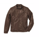X-Edition Leather Jacket, Men's - Brown