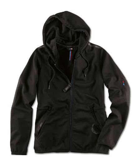 Ladies' M Sweat Jacket - Black