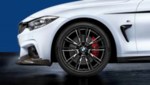 "F3x 3 & 4 Series M Performance 20"" Style 624M Black Wheel/Tire Set - vehicles up to 3/2014"