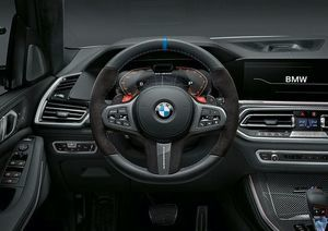 M Performance Pro Steering Wheel with Carbon/Alcantara Cover & Carbon Shift Paddles - BMW (32-30-2-462-901)