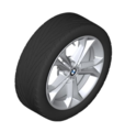 "G01 X3 18"" Style 688 Winter Wheel/Tire Assembly"
