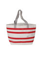 Sail Bag Nautical Stripes Beach Tote