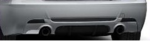 E92/93 3 Series iS Rear Diffusor Kit