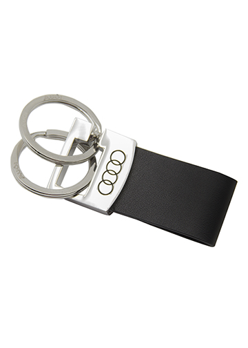 Leather Valet Keychain - Audi (ACM-890-2)