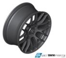 "E9x M3 M Performance 19"" Style 359 Rims - Matte Black"
