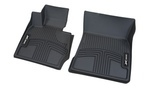 F10 5 Series All Weather Rubber Floor Liners, Front - Black - BMW (82-11-2-220-876)