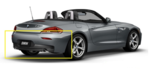 E89 Z4 M Sport Rear Aerodynamic Kit