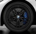 "F87 M2 & M2 Comp Pckg 19"" Style 641M Black Winter Wheel/Tire - 8.5x19"