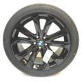 """F15 X5, F16 X6 20"""" Style 491 Black Winter Wheel/Tire - 10x20 - BMW (36-11-2-349-637)"""