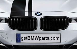F32/33/36 4 Series M Performance Black Kidney Grille, Right - BMW (51-71-2-336-814)
