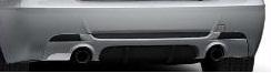 E92/93 3 Series iS Rear Diffusor Kit - BMW (51-12-2-158-322)