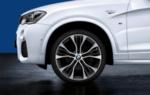 "F25 X3, F26 X4 M Performance 21"" Style 599M Wheel/Tire Set"