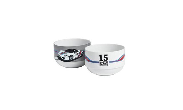 Porsche Bowls set of 2 - MARTINI RACING - Porsche (WAP-050-070-0F)