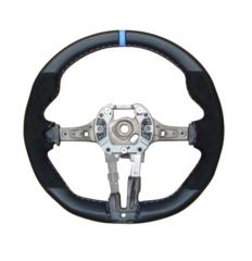F8x M3 & M4, F87 M2 M Performance Flat-Bottom Steering Wheel - BMW (32-30-2-413-014)