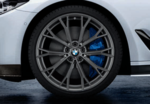 "G30 5 Series M Performance 20"" Style 669M Orbit Grey Wheel/Tire Set"
