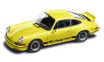Model Car - Yellow 911 Carrera RS 2.7 1:43
