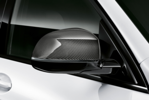 M Performance Carbon Fiber Mirror Shroud - Right - BMW (51-16-2-446-964)