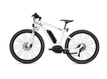 BMW Cruise E-Bike Frozen Brilliant White Metallic w/ Black Saddle