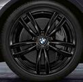 "G32 6 Series GT, G11/12 7 Series 19"" Style 647M Black Winter Wheel/Tire - 8.5x19"