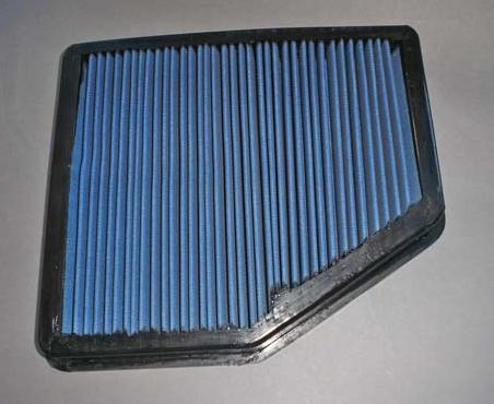 K&N Free-Flow Replacement Air Filter Element (for stockÌ´Ì_air box) for the BMW E60 545i / 550i, E63 645Ci / 650i and E64 650i - DINAN (D403-0003)