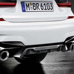 G20 3 Series M Performance Carbon Fiber Rear Diffuser - M340i/iX - BMW (51-19-2-459-740)