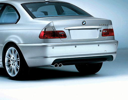 E46 3 Series Mtech II Rear Aerodynamic Retrofit Kit - BMW (PKE46MTECHREAR)