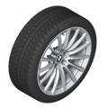 "G30 5 Series 18"" Style 619 Silver Winter Wheel/Tire - 8x18"
