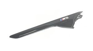 F90 M5 M Performance Gloss Black Side Grill Molding - Right - BMW (51-13-8-076-048)