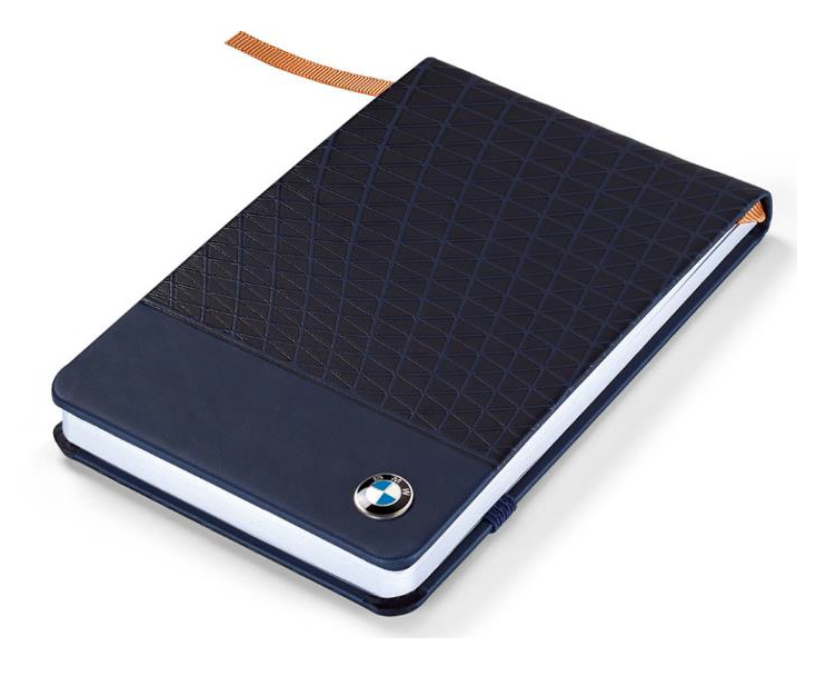 BMW Small Notebook - Dark Blue