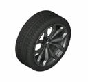 "G01 X3, G02 X4 20"" Style 695 Black Winter Wheel/Tire - 8x20"