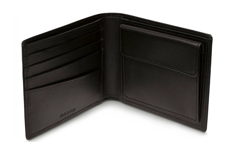 BMW Wallet with Coin Compartment - Black
