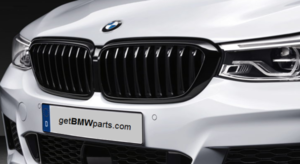 G32 6 Series GT M Performance Gloss Black Kidney Grille - Right - BMW (51-71-2-445-002)