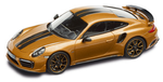 Porsche Model Car - 911 Turbo S Exclusive, Golden Yellow, 1:43