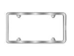 Brushed Slimline Plate Frame