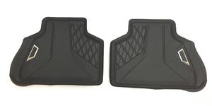 G05 X5 Rubber Floor Liner Set - Rear - BMW (51-47-2-458-560)
