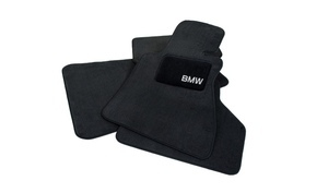 F10 5 Series Carpeted Floor Mats With BMW Lettering - BMW (82-11-0-440-464)