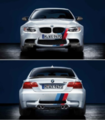 E82 1 M Coupe M Performance Front/Rear Stripes Decal Kit